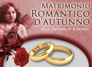 matrimonio romantico in autunno