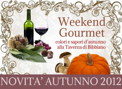 Weekend Gourmet in Autunno