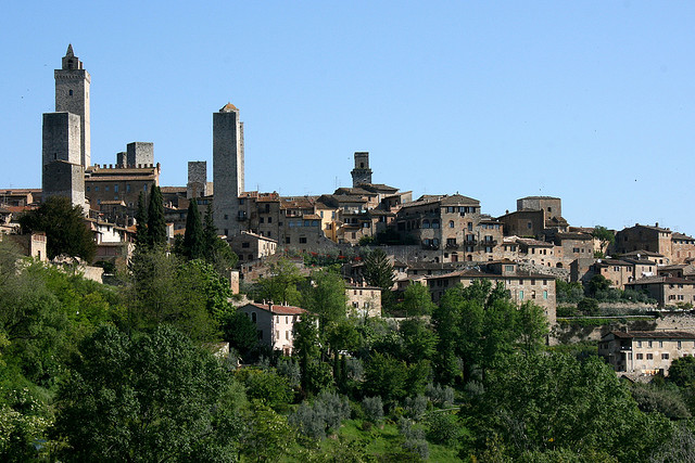 San Gimignano. Foto in licenza Creative Commons by Strato 56. Fonte: Flickr