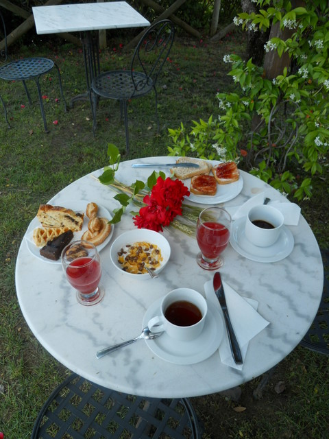 The Romantic Breakfast by Romantic Farmhouse Taverna di Bibbiano in San Gimignano Siena Tuscany