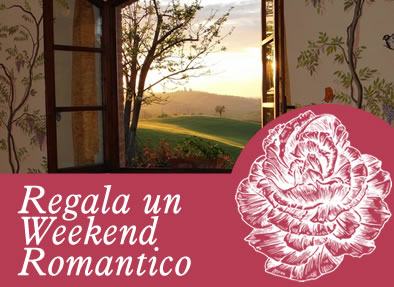 regala un weekend romantico in toscana