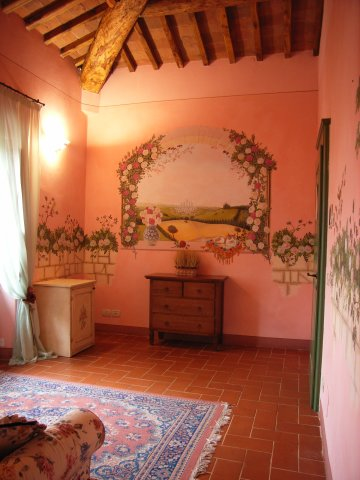 Romantic Weekends in Tuscany in Suite Le Rose by Taverna di Bibbiano