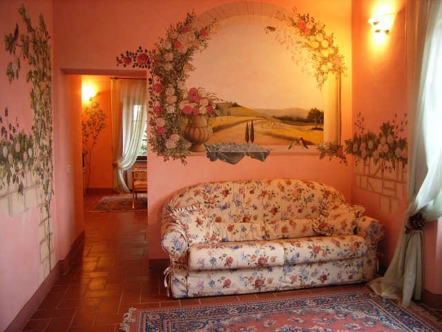 Book your Anniversary in Tuscany in Suite Le Rose by Taverna di Bibbiano